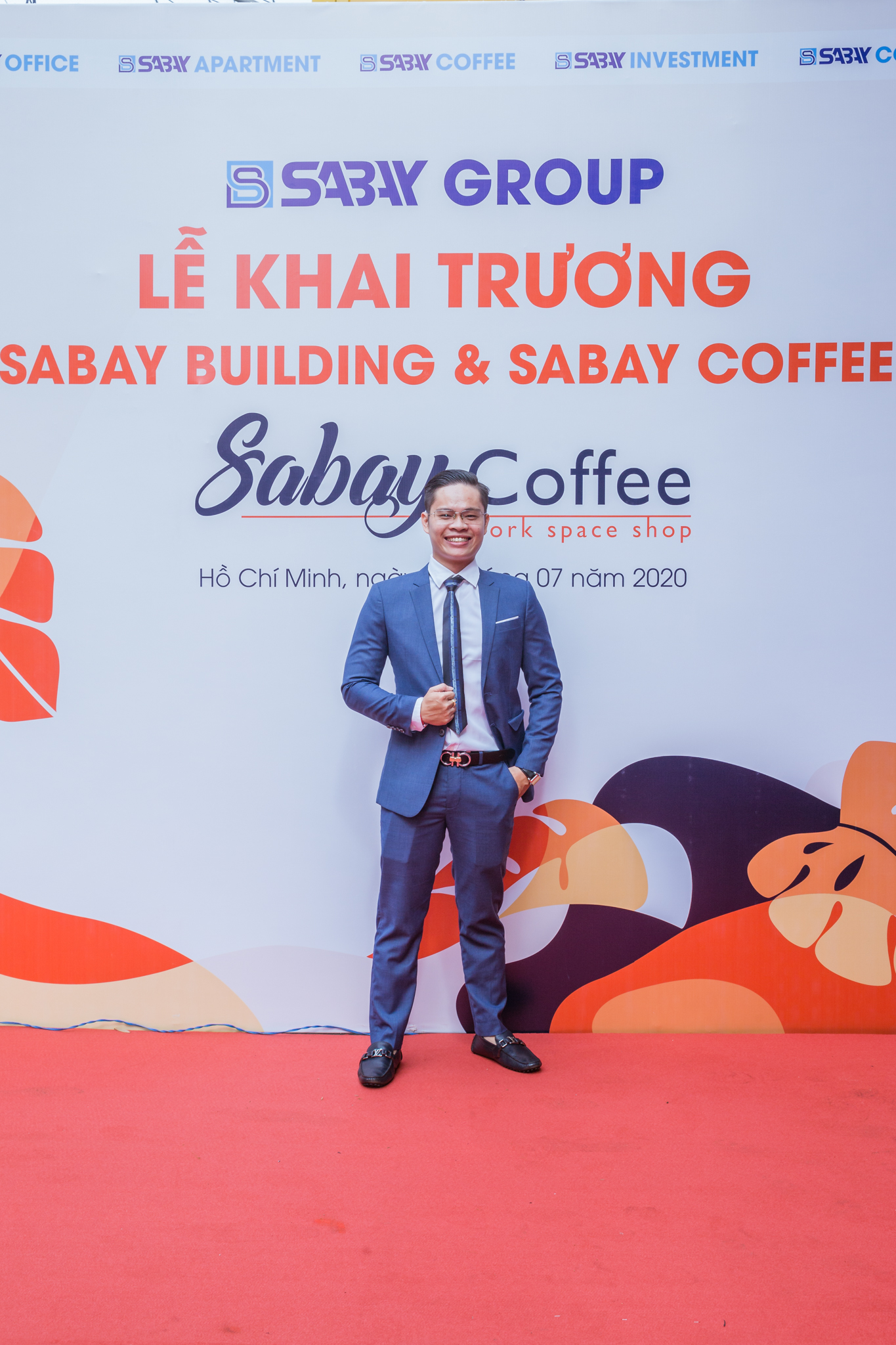 khai truong sabay coffee